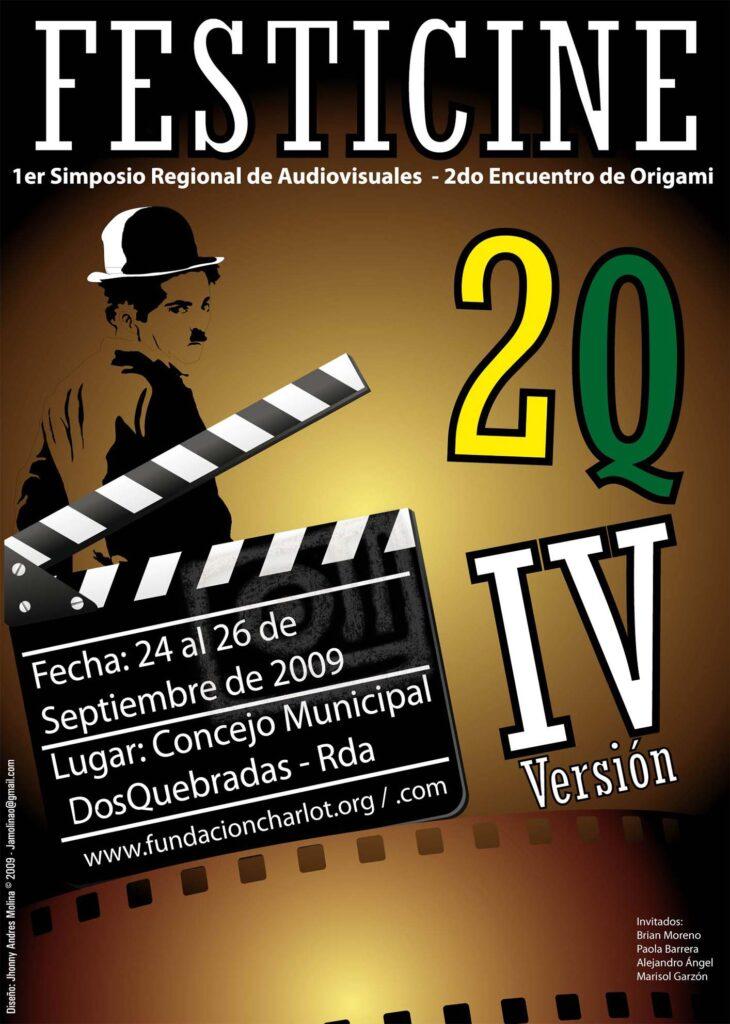 Afiche FICDOS 2009