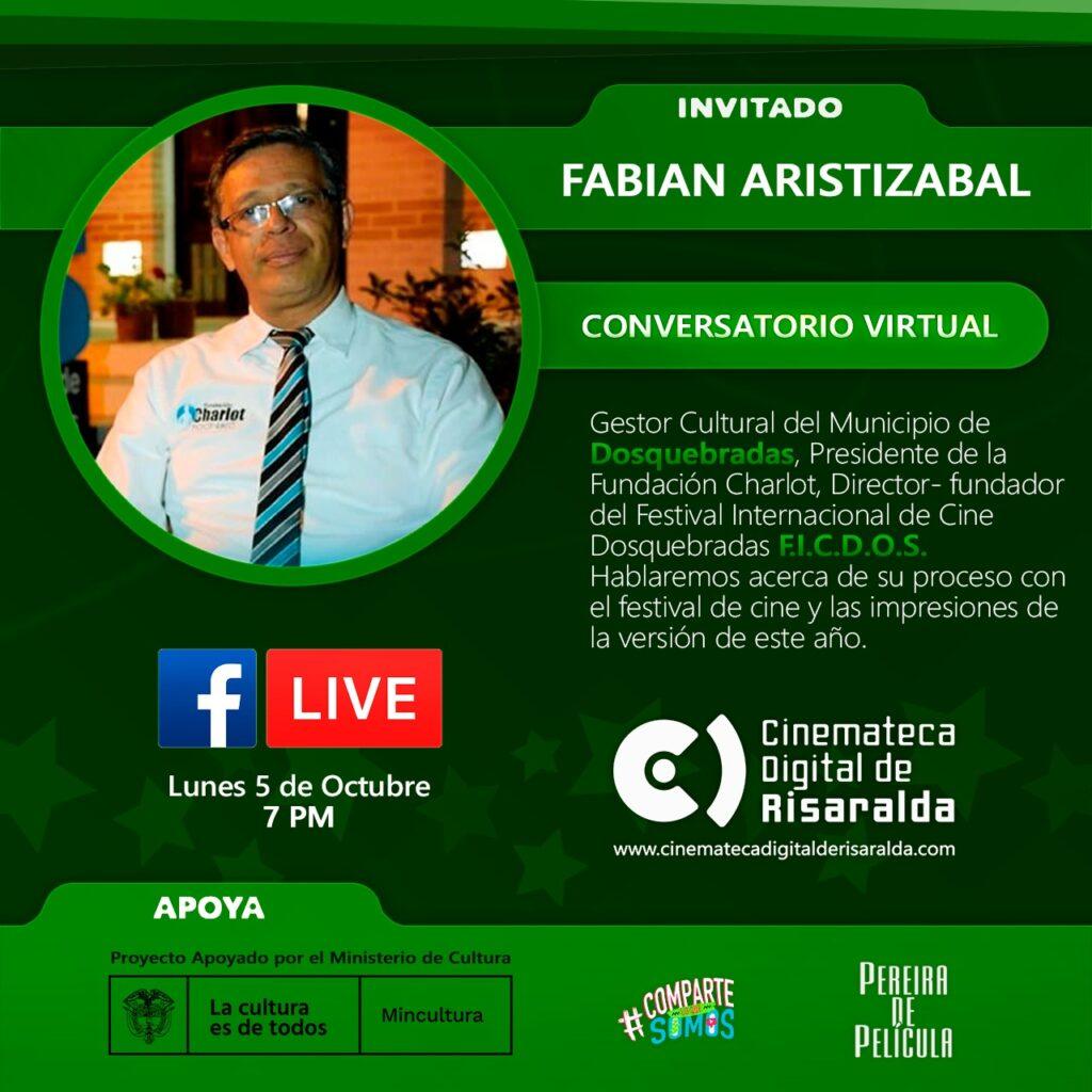 CONVERSATORIO CON FABIÁN ARISTIZÁBAL