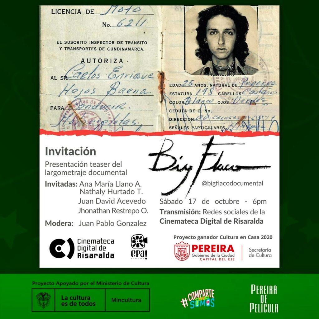 CONVERSATORIO Y PRESENTACIÓN DEL TEASER DEL LARGOMETRAJE BIG FLACO