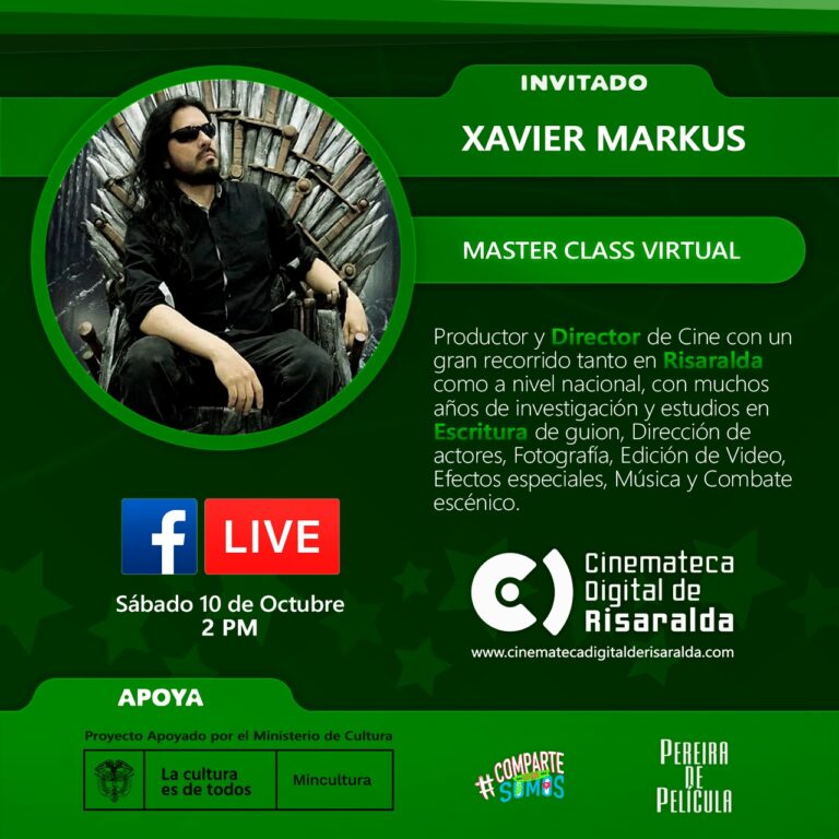 MASTERCLASS CON XAVIER MARKUS
