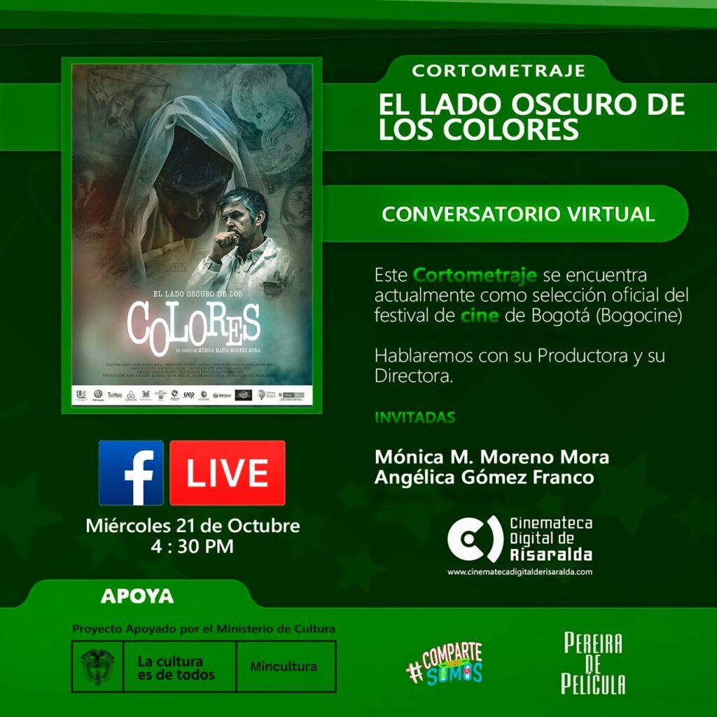 CONVERSATORIO EL LADO OSCURO DE LOS COLORES